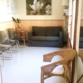 Dentista Incisa Val d'Arno, sala d'attesa