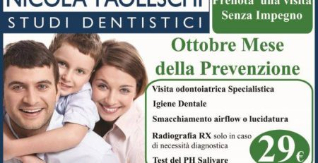 Mese delle prevenzione dentale 2016